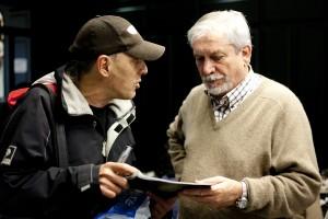 Ibón Casas con Germán López Fuentes, pte. F.A.R.P.E. (Foto: Paula Arbide)