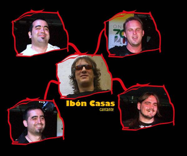Hace algunos años...David Soriazu, Iñaki Udabe, Ibón Casas, Sacha Soriazu y Rafael Bajo