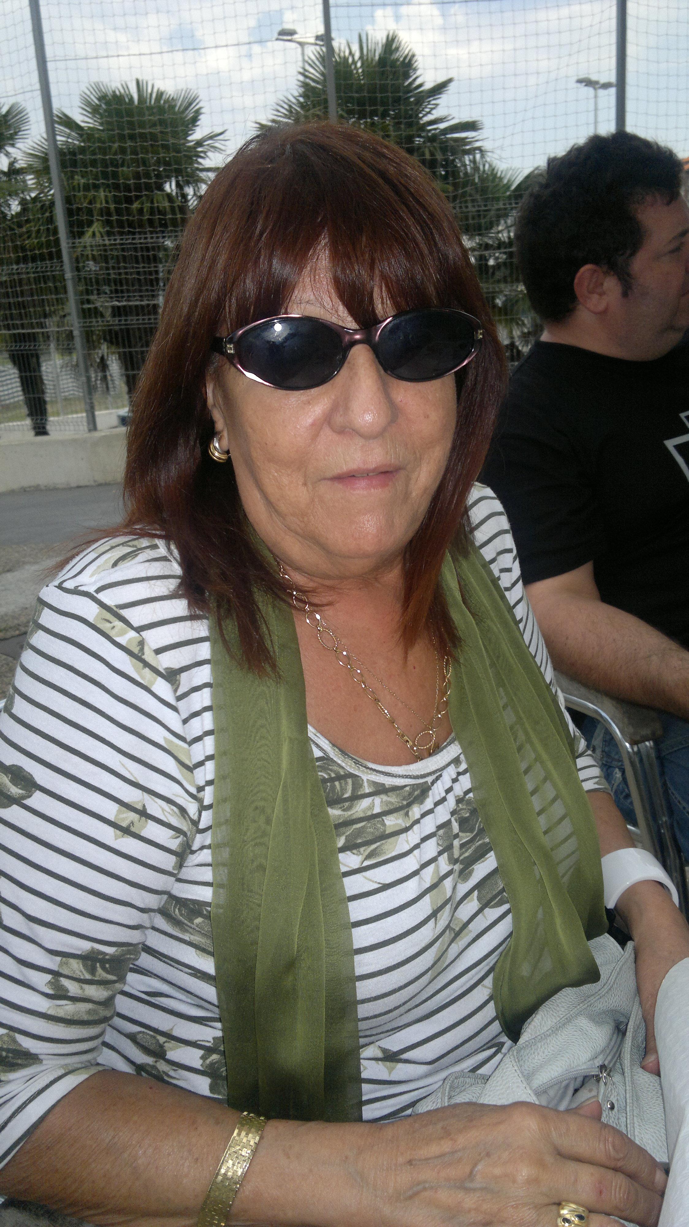 Mari Carmen Casas. Madre de Ibón