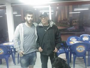 Con Aritz Goicoetxea (Foto: Joxeba Agirresarobe)