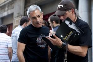 Con Jon Sistiaga (Foto: Paula Arbide)