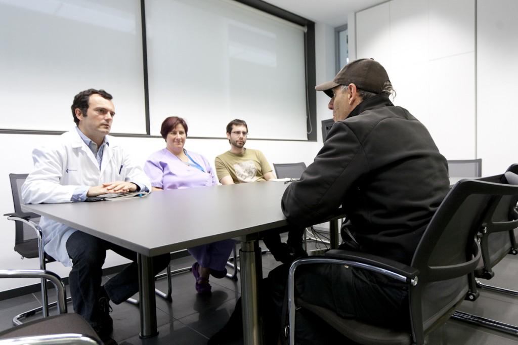 Reunión en Biodonostia