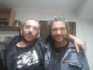 Joxeba Agirresarobe y Juan Almenara