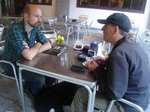 Con Jorge Gil Munárriz (Foto: Mª José Acevedo)