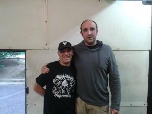 Con Jon Hausheer (Foto: Ana Muñoz)