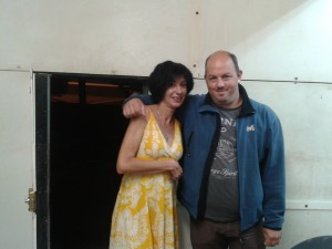 Sendoa Lusarreta y Ana Muñoz (Foto: Ibón Casas)