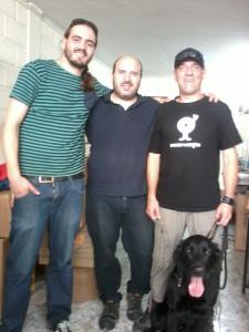 Eltxo, Imanol Samper, Ibón y Roger (Foto: Gorka Servan)
