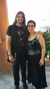 María José con Rafa Blas