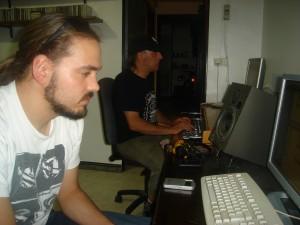 Trabajo de producción. Ibón y Rafael Bajo  Foto: Mª José Acevedo