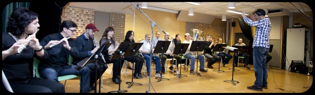Grupo de profesores de los conciertos pedagógicos de la Escuela de música y danza de San Sebastián Foto: Paula Arbide