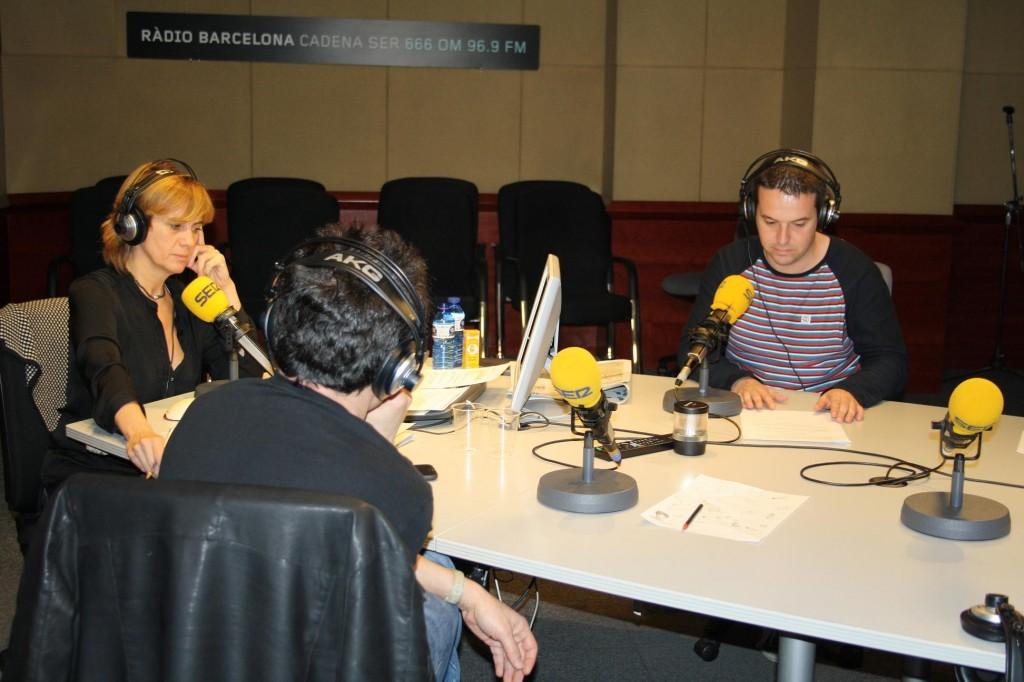 Gemma Nierga y Carles Peña en directo
