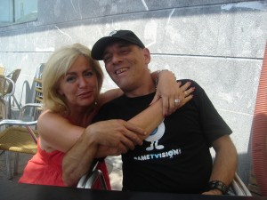 Con Carmen Martín Foto: Mª José Acevedo