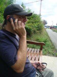 El teléfono, un gran aliado de Ibón Casas Foto: Mª José Acevedo