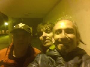 Iñaki, Aritz e Ibón