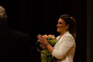 Carlota Corredera feliz y emocionada Foto: Kike Torres
