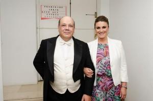 Oscar Villar y Carlota Corredera Foto: Kike Torres