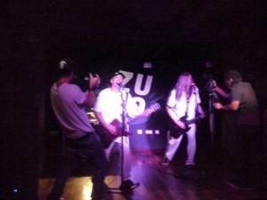 Actuación en el Bar ZULO de Lasarte Foto: Ana Muñoz