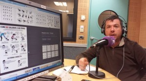 """Alberto colabora en """"El Pasacalles"""" de Radio Castilla La Mancha"""