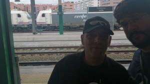 Ibón y Pancho en Pamplona