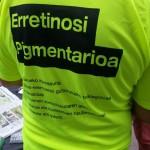 Día Retinosis Pigmentaria. Camiseta