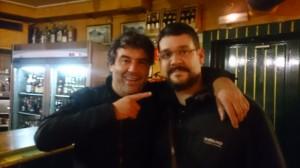 Bruno Oteiza y Pancho Sánchez