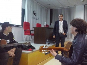 Pablo Adán Micó en su conferencia Foto: Ana Muñoz
