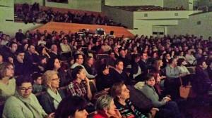 El aforo del Auditorio casi lleno